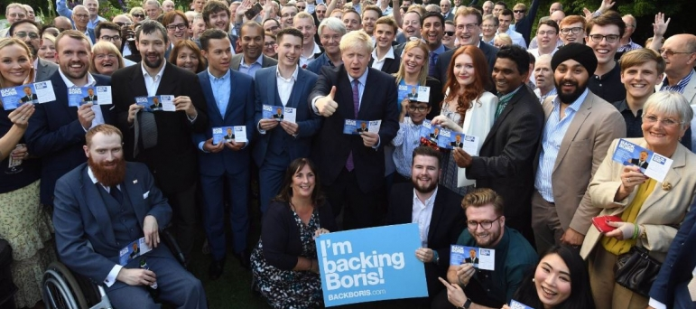 Backing Boris